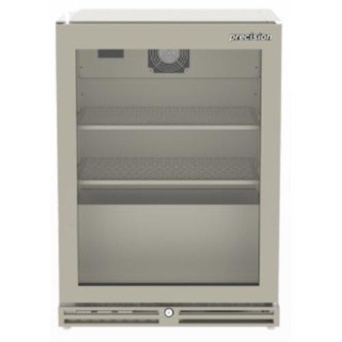 PRECISION GFS 600 - Single Glass Door Undercounter Glass Foster, 900 mm H