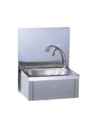 806 382 Wall Mounted Wash Hand Basin +  Mixer + Upstand