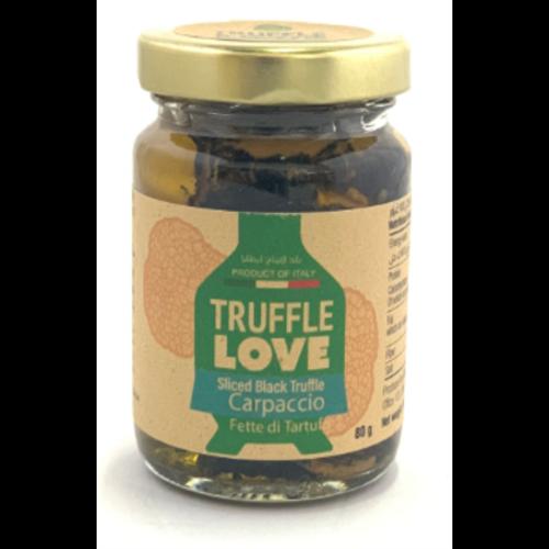 TRUFFLE LOVE Truffle Love Sliced Black Truffle Carpaccio  80 grams