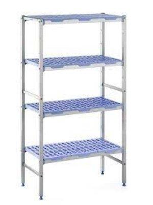 PLE 1594 Polypropylene Shelves 4 tier
