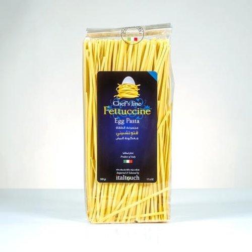 Fettucine Egg Pasta 1 Case - 6pcs x 500 Grams
