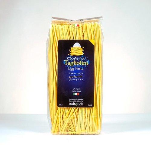 Tagliolini Egg Pasta 1 Case - 6pcs x 500 Grams