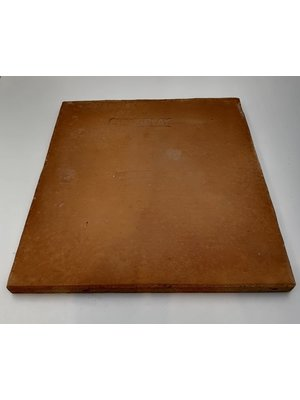 CHEF'S PLAY Pizza Stone for Grill and Oven - 30x30x2 cm Extra Thick - Cooking & Baking Stone for Oven and BBQ Grill