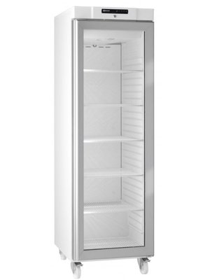 Compact KG 410 LG C 6W - Single Glass Door Upright Refrigerator