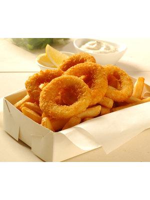 Pacific West Panko Coated Squid Rings (1 bag) 4 kg