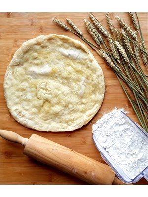 Pizza Box by Chef's Play Pre-cooked frozen Pizza Base (BIANCA) 28CM/PIECE AND 250GRAMS/PIECE 5PIECES/BOX