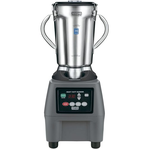 WARING CB15T- 1 Gallon Stainless Steel Food Blender with Timer