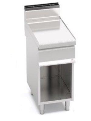 BERTO'S N7T4M - Freestanding Single Work Top with Cabinet