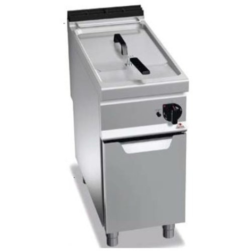 BERTO'S E9F22-4M - Freestanding Electric Fryer on Cabinet, 22 L