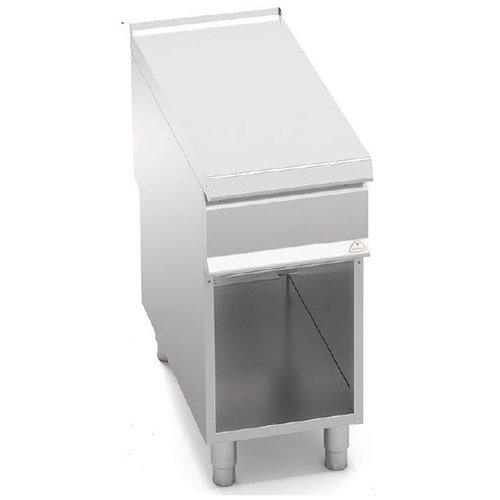 BERTO'S SN9-4M - Single Plain Top with Cabinet