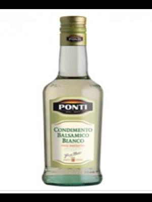 PONTI White Balsamic Vinegar (12 each case) 250 ml