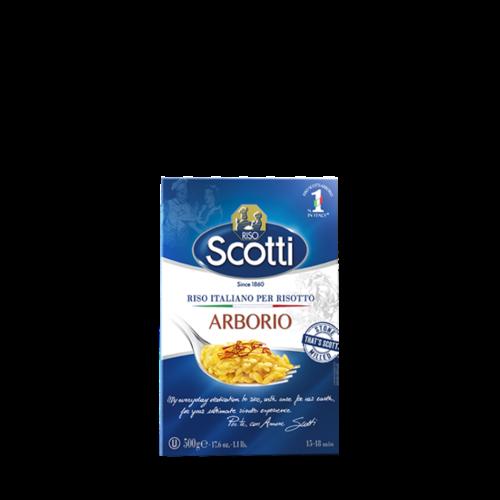 RISO SCOTTI Arborio Rice - 12 pieces (500 g each)