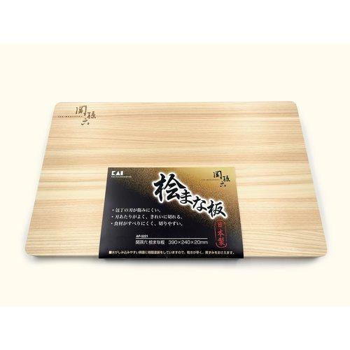 KAI Seki Mago Roku Hinoki Cutting Board 39x24x2cm