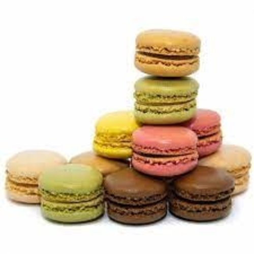 LA ROSE NOIRE Hand Crafted Assorted  Mini Macaron - 126 pieces (7 g each)