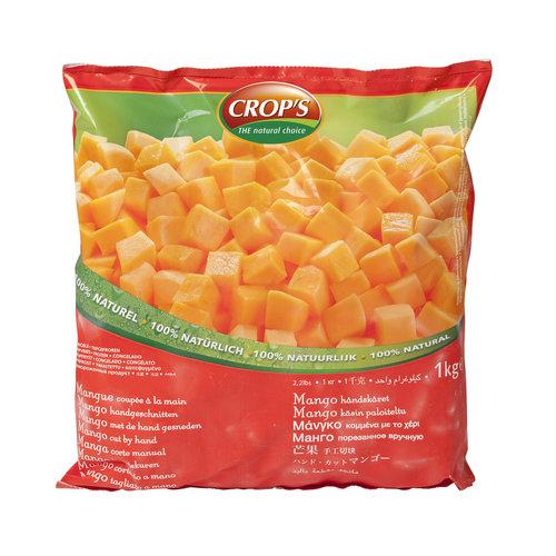 CROP'S FROZEN FRUIT MANGO (1KG)