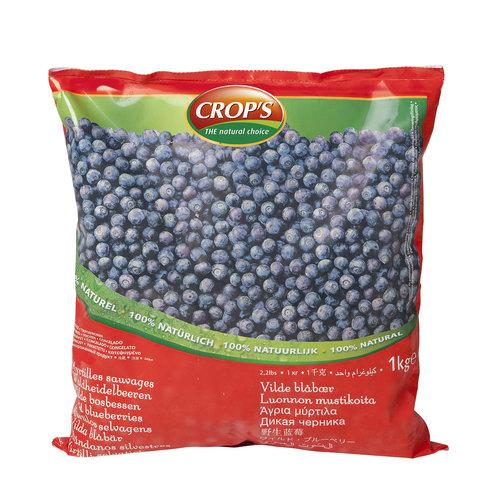 CROP'S FROZEN FRUIT BLUEBEBBRY (1KG)