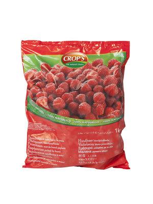 CROP'S FROZEN FRUIT RASPBERRY (1KG)