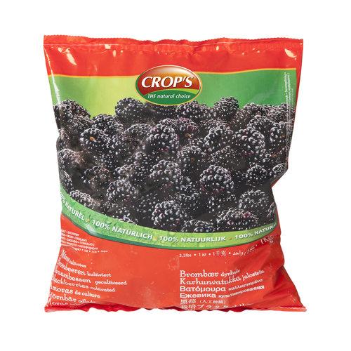 CROP'S FROZEN FRUIT BLACKBERRIES (1KG)