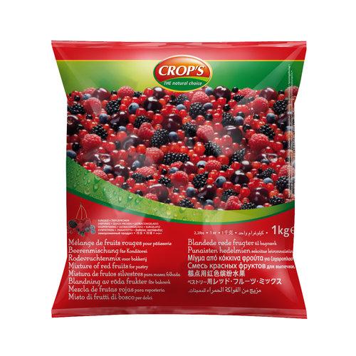 CROP'S FROZEN FRUIT RED FRUITS MIX (1KG)