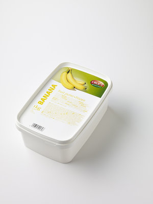 CROP'S FRUIT PUREE BANANA (1KG) FROZEN
