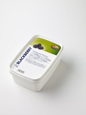 CROP'S FRUIT PUREE BLACKBERRY (1KG) FROZEN