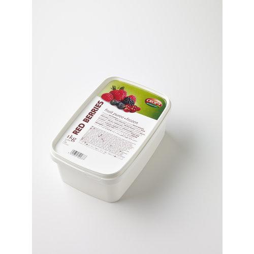 CROP'S FRUIT PUREE RED BERRIES (1KG) FROZEN