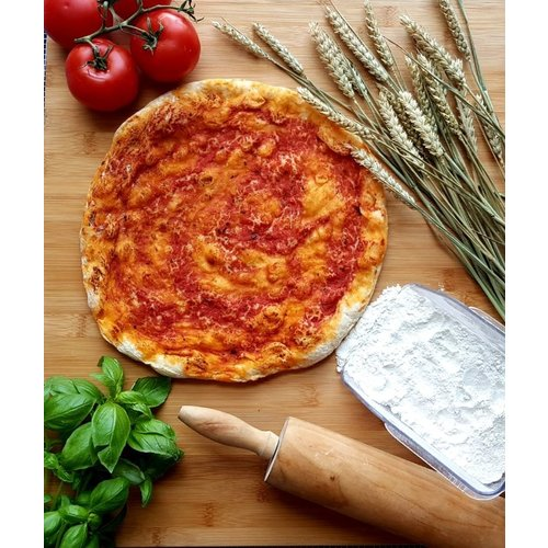 CHEF'S PLAY Pre-cooked Frozen Rossa Pizza Base 28cm - 250 grams/pc (5 pcs /box)