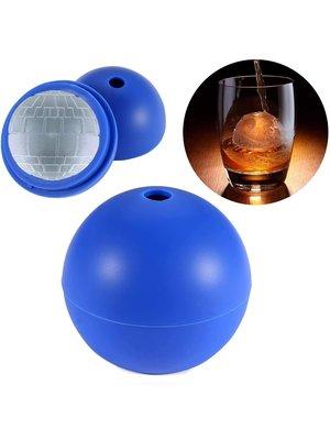 MoldyfunUSA 2 Piece Round Sphere Whisky Silicone Ice Molds