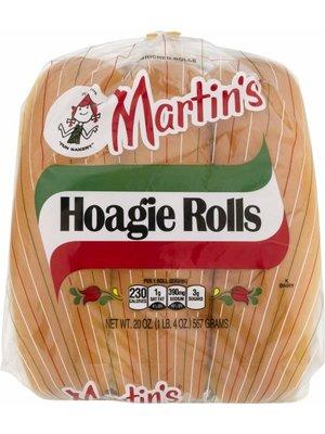 MARTIN'S Hoagie Rolls 4 OZ
