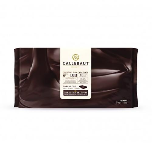 CALLEBAUT  Dark Chocolate 48.2%, L811 - 5kg Block (Belgium)