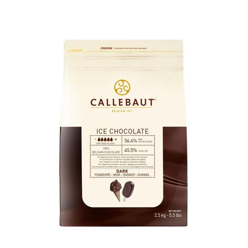 CALLEBAUT  Dark Chocolate 56.4%, ICE - 2.5kg Coins (Belgium)