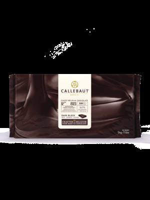 CALLEBAUT  Dark Chocolate 56.9%, 815 - 5kg Block (Belgium)
