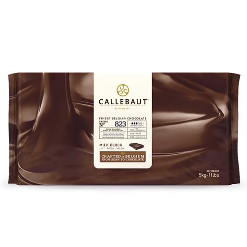 CALLEBAUT  Milk Chocolate 33.6%, 823 - 5kg Block (Belgium)