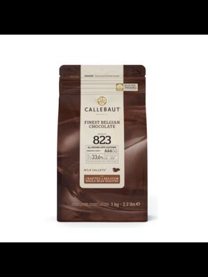 CALLEBAUT  Milk Chocolate 33.6%, 823 - 1kg Coins (Belgium)
