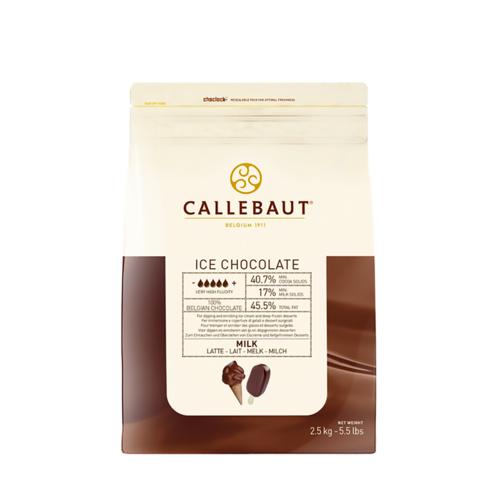 CALLEBAUT  Milk Chocolate 40.70%, ICE - 2.5kg Coins (Belgium)