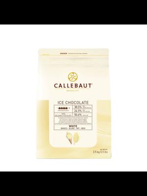 CALLEBAUT  White Chocolate 28%, ICE - 2.5kg Coins (Belgium)