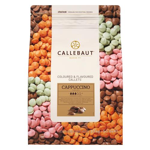 CALLEBAUT  Speciality Chocolate 30.8%, CAPPUCCINO - 2.5kg Coins (Belgium)