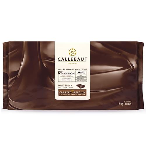 CALLEBAUT  Sugar Free Milk Chocolate 33.9%, MALCHOC - 5kg Block (Belgium)
