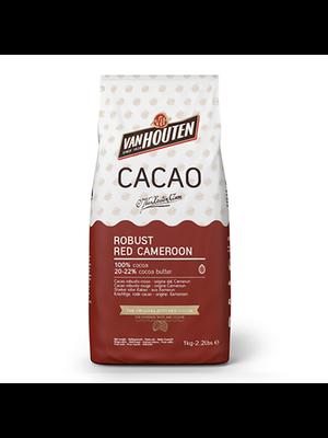 VAN HOUTEN 100% Cocoa 20-22%, ORIGIN CAMEROON - 1kg Bag (Sweden)