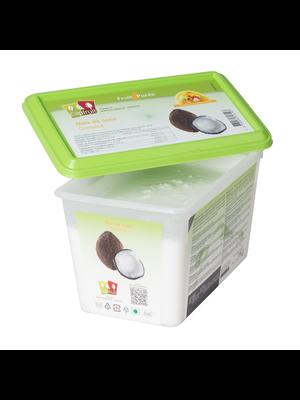 CAPFRUIT Frozen Fruit Puree COCONUT 10% added sugar - 1kg Tub (France)
