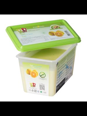 CAPFRUIT Frozen Fruit Puree YUZU no added sugar - 1kg Tub (France)