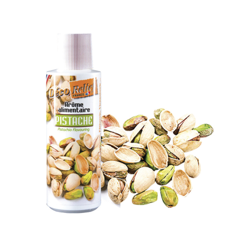 DECO RELIEF Concentrated Aroma PISTACHIO - 125ml bottle (France)