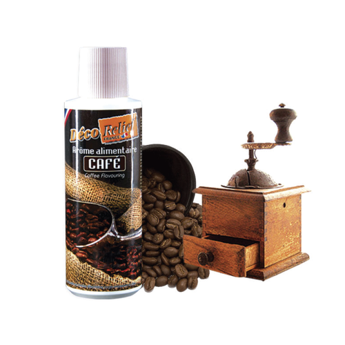 DECO RELIEF Concentrated Aroma COFFEE - 125ml bottle (France)