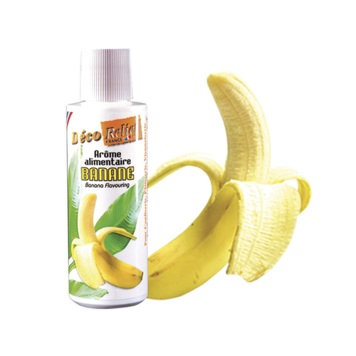 DECO RELIEF Concentrated Aroma BANANA - 125ml bottle (France)