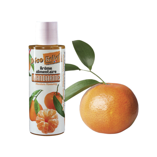 DECO RELIEF Concentrated Aroma MANDARINE - 125ml bottle (France)