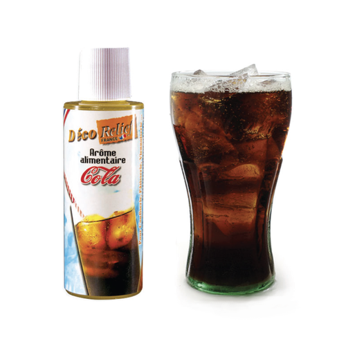 DECO RELIEF Concentrated Aroma COLA - 125ml bottle (France)