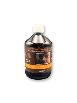 AUTHENTIC PRODUCTS VANILLA EXTRACT WITH SEEDS - 500ml (France)