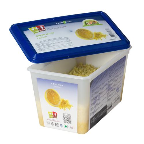 CAPFRUIT Frozen Fruit'Zest LEMON - 500gr Tub (France)