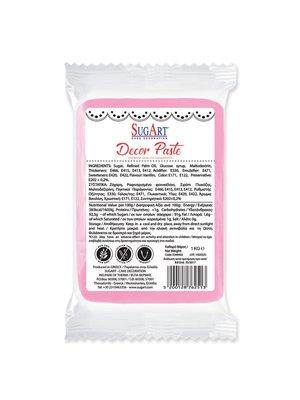 SUGART Decor Paste sugar paste PINK - 1kg Pack (Greece)
