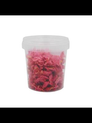 FLOR & FLOR Crystalized NATURAL ROSE PETALS - 250gr Jar (France)